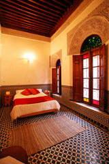 Room for rent in Moroccan riad